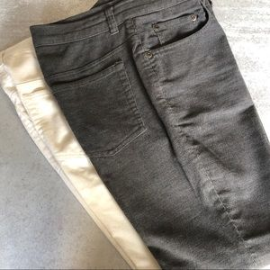 Jones New York Two pair corduroy pants. 6